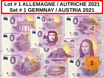 Lot 25 Billets ALLEMAGNE / AUTRICHE # 1