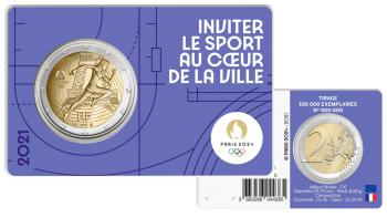 Paris 2024 - Coincard Violet