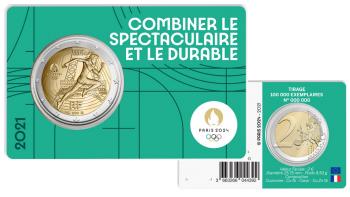Paris 2024 - Coincard Vert